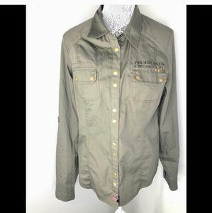 Fox military style jacket.
